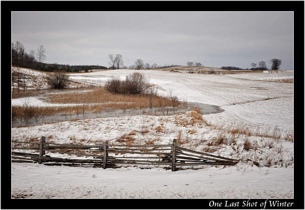March 2011 Winterscapes