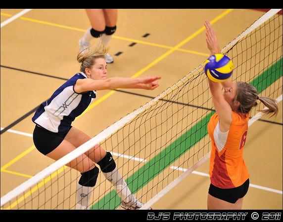 Conestoga Womens Volleyball 2011